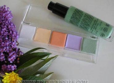 les bases colorées du maquillage